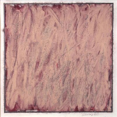 Phil Sims, 'Untitled (light maroon)', 1980