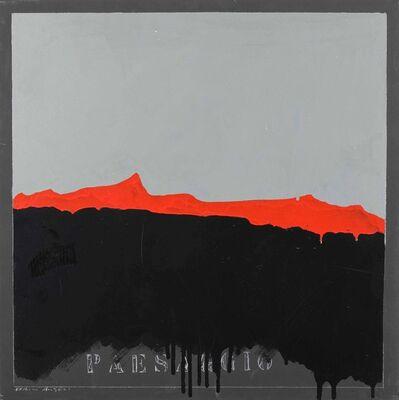 Franco Angeli, 'Paesaggio', 1970-1975