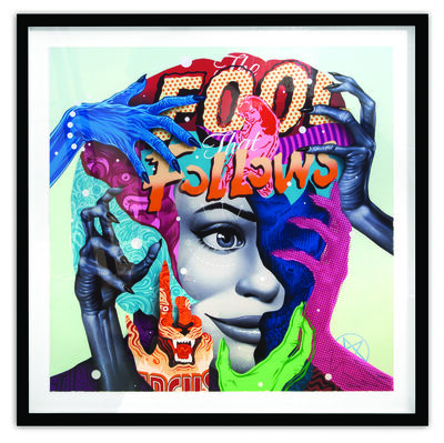 Tristan Eaton, 'The Fool That Follows'