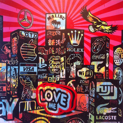 Speedy Graphito, 'City Loves Me', ca. 2013