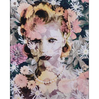 Valérie Belin, 'Chrysanthemum (Tokyo) - Série Black-Eyed Susan'