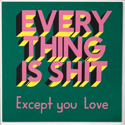 Stephen Powers, 'Everything is Shit', 2017