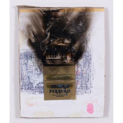 César, 'Combustion d'allumettes', circa 1980