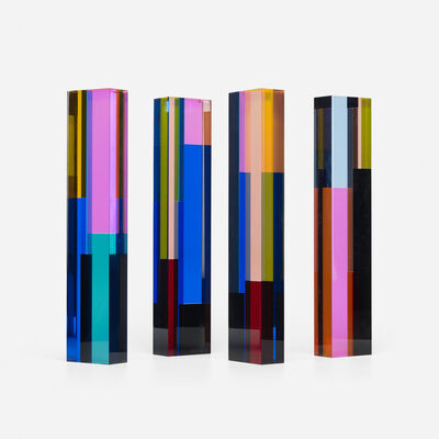 Vasa Velizar Mihich, '#2129 (four columns)', 1983