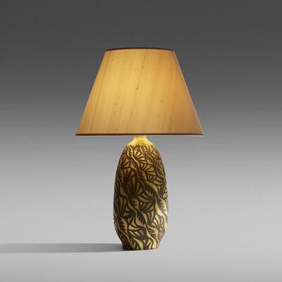 Alexandre Noll, 'Rare table lamp', c. 1918