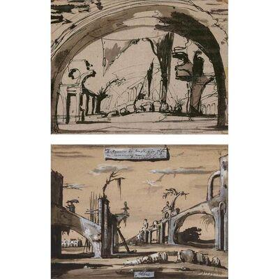 Eugene Berman, 'Alba a double sided work', 1939-40