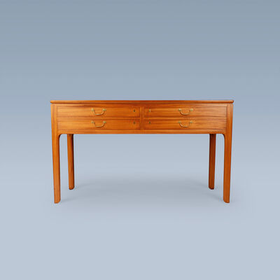 Ole Wanscher, 'Cuban mahogany console table with drawers', 1950-1959