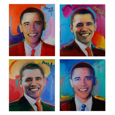 Peter Max, 'Obama to the Max (Set of 4)', 2009
