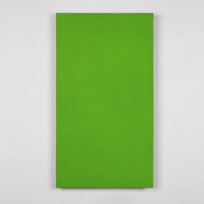 Günter Umberg, 'Ohne Titel (verde)', 2010
