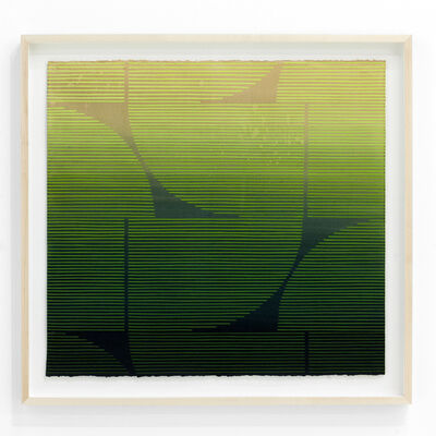 """Kelly Ording, '""""Eight Answers to a Problem (Green)""""', 2018"""