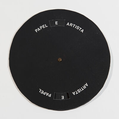 Cláudio Goulart, 'Artista / Papel', 1982