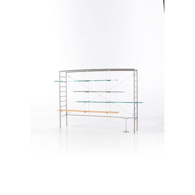 Andrea Branzi, 'Pierced Bookcase - Limited Edition Collection Uomini e Fiori, Bookshelf', 2006