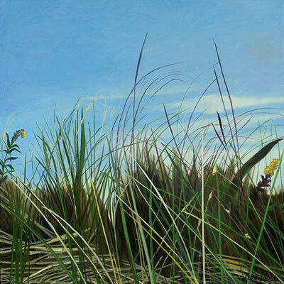 "Ellen Sinel, 'Grasses Series: ""Intervals"" (dimensions provided are without frame)'"