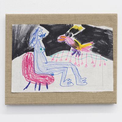 Daniel Boccato, 'Parrot Painting ', 2017
