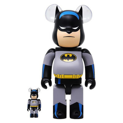 BE@RBRICK, 'Batman 400% Bearbrick Animated Series (Batman Be@rbrick 400% animated)', ca. 2019