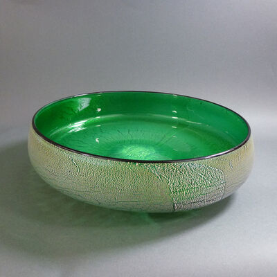 David Thai, 'Round Wave Bowl Green', 2019