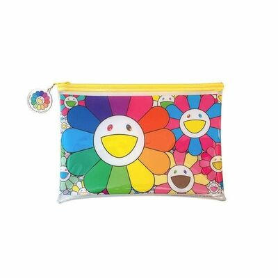 "Takashi Murakami, '""POP UP FLOWER"" Plastic Pouch', 2020"