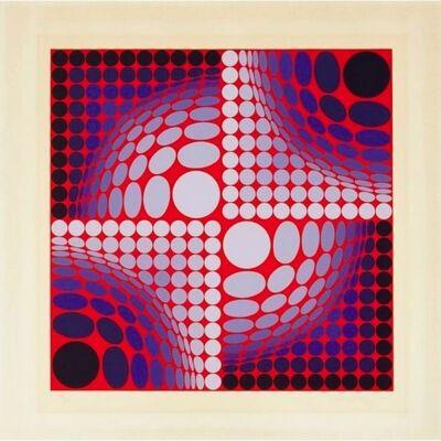 Victor Vasarely, 'No title ', ca. 1970