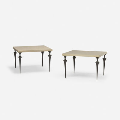 Hervé van der Straeten, 'Mycene tables, pair', 2001