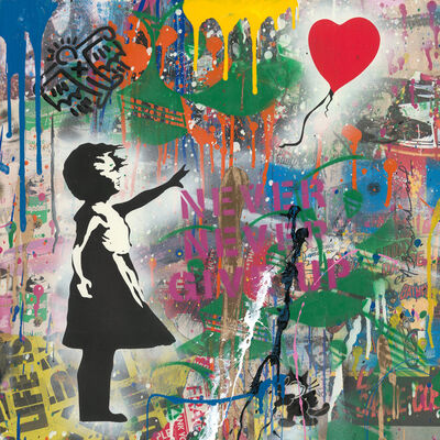Mr. Brainwash, 'Balloon Girl ', 2019