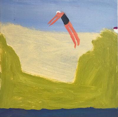 Katherine Bradford, 'Summer Dive', 2018