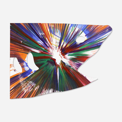 Damien Hirst, 'Shark Spin Painting', 2009