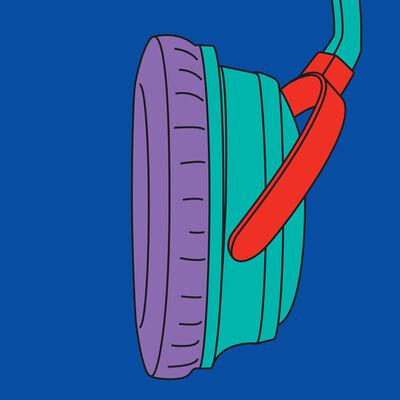 Michael Craig-Martin, 'Headphones (fragment)', 2015