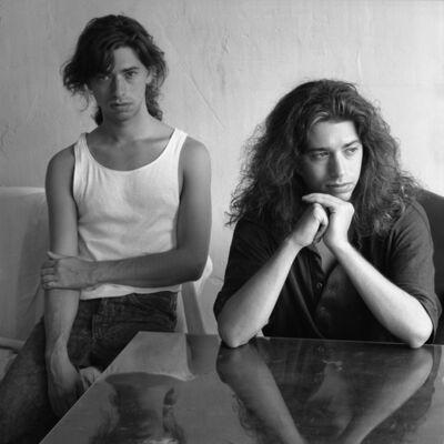 Jeannette Montgomery Barron, 'Doug and Mike Starn, Boston', 1987