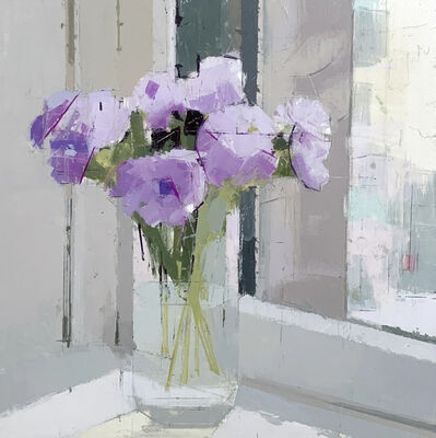 Lisa Breslow, 'Purple Flowers', 2019
