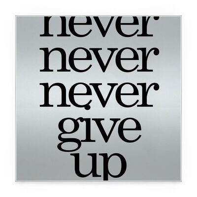 Blair Chivers, 'Never Give Up', 2020