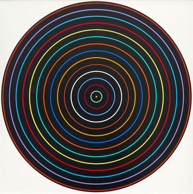 Tadasky (Tadasuke Kuwayama), 'Multicolor with Black, C-176', 1965