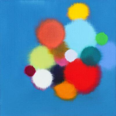 Anda Kubis, 'Pathways, Blue', 2019