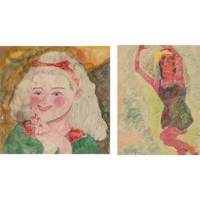 Justin McCarthy, '(i) Charlotte Henry (ii) Red Figure'