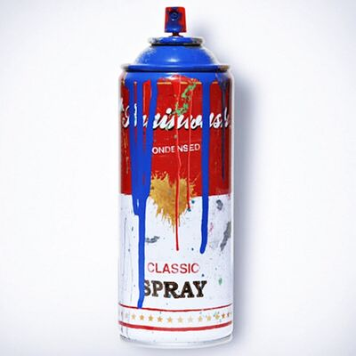 Mr. Brainwash, 'Classic Spray Can (Blue)', 2013