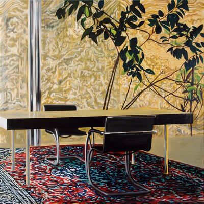 Eamon O'Kane, 'Villa Tugenhadt With Carpet Roots and Plant (Mies Van Der Rohe)', 2010