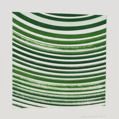 James Nares, 'High Speed Cone Graphs 2, 30º ', 2020