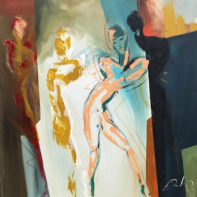 Alfred Gockel, 'The Listeners', 2016