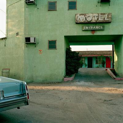 Jeff Brouws, 'El Morocco Motel, Bakersfield, California', 1993