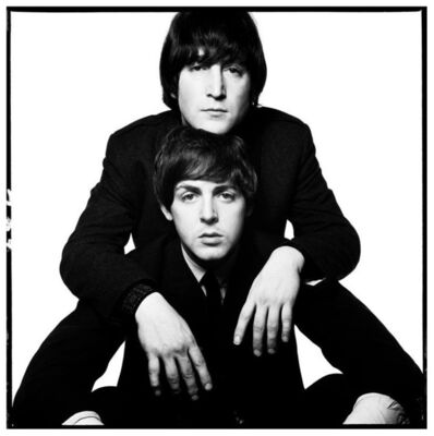 David Bailey, 'John Lennon & Paul McCartney (1965)', 1990