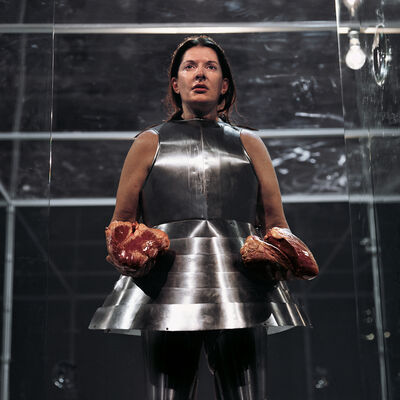 Marina Abramović, 'Virgin Warrior - Two Hearts (Performance with Jan Fabre)', 2006