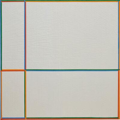 Max Bill, 'Doppelfarben (Im Kreuz 1:2:3:4)', 1968