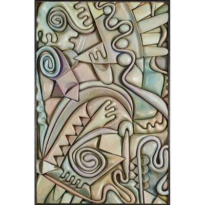 "Stan Dann, 'Large wall-hanging sculpture, ""Flora #1,"" Lafayette, CA', 2000s"
