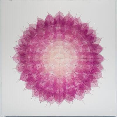 Miya Ando, 'Mandala (Momoiro)', 2020