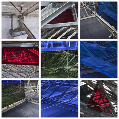 Catherine Wagner, 'Roof Typology', 2018