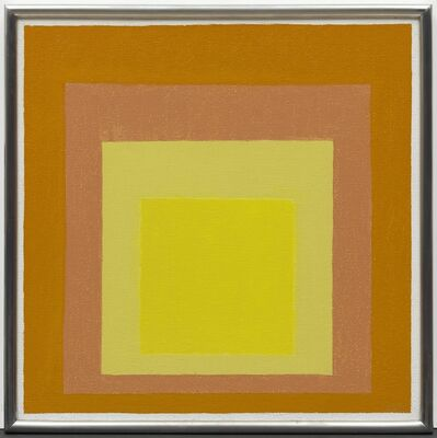 Josef Albers, 'Study for Homage to the Square: Consent', 1971