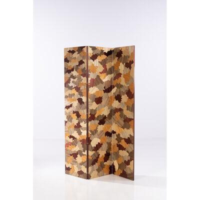Lison de Caunes, 'Camo - Unique piece, three-leaf folding screen', 2017