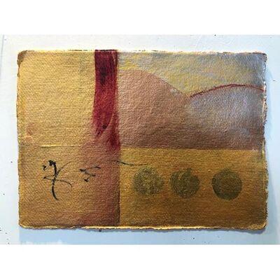 "Diane Churchill, '""Gold Landscape""', 2020"