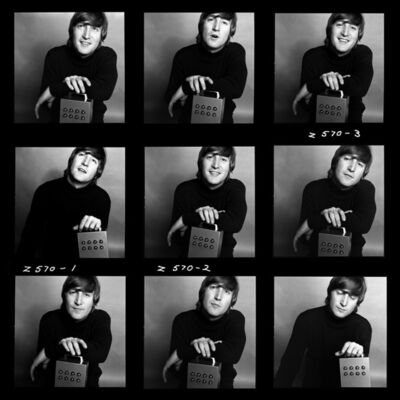 Brian Duffy, 'John Lennon, Demi-Contact Sheet', 1965
