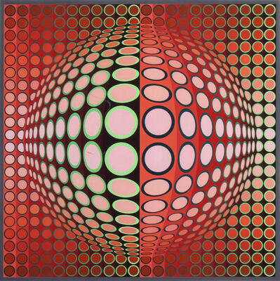 Victor Vasarely, 'Malna'