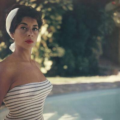 Slim Aarons, 'Francine Brandt in Acapulco', 1961